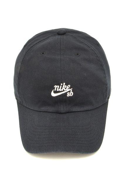 Boné Nike Sb H86 Preto