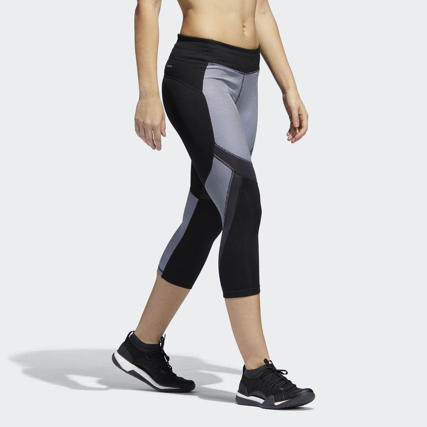 Calça Legging Adidas Climalite Badge Of Sport