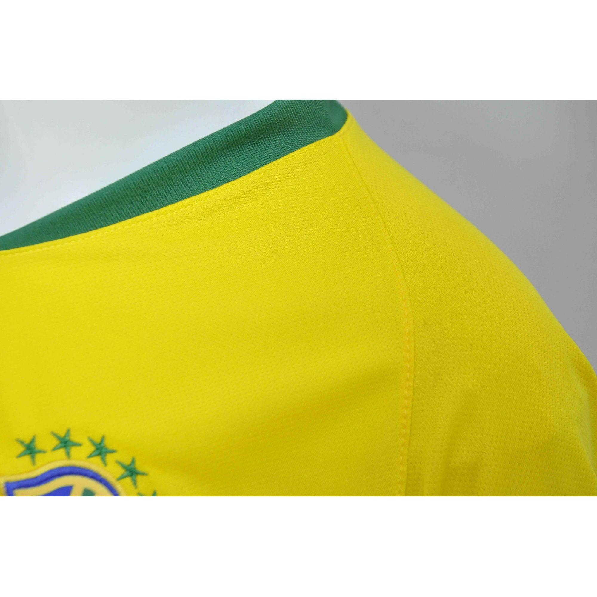 efe92452c7 Camisa Brasil Seleção Brasileira 2018 Baby Look - Feminino - BRACIA ...