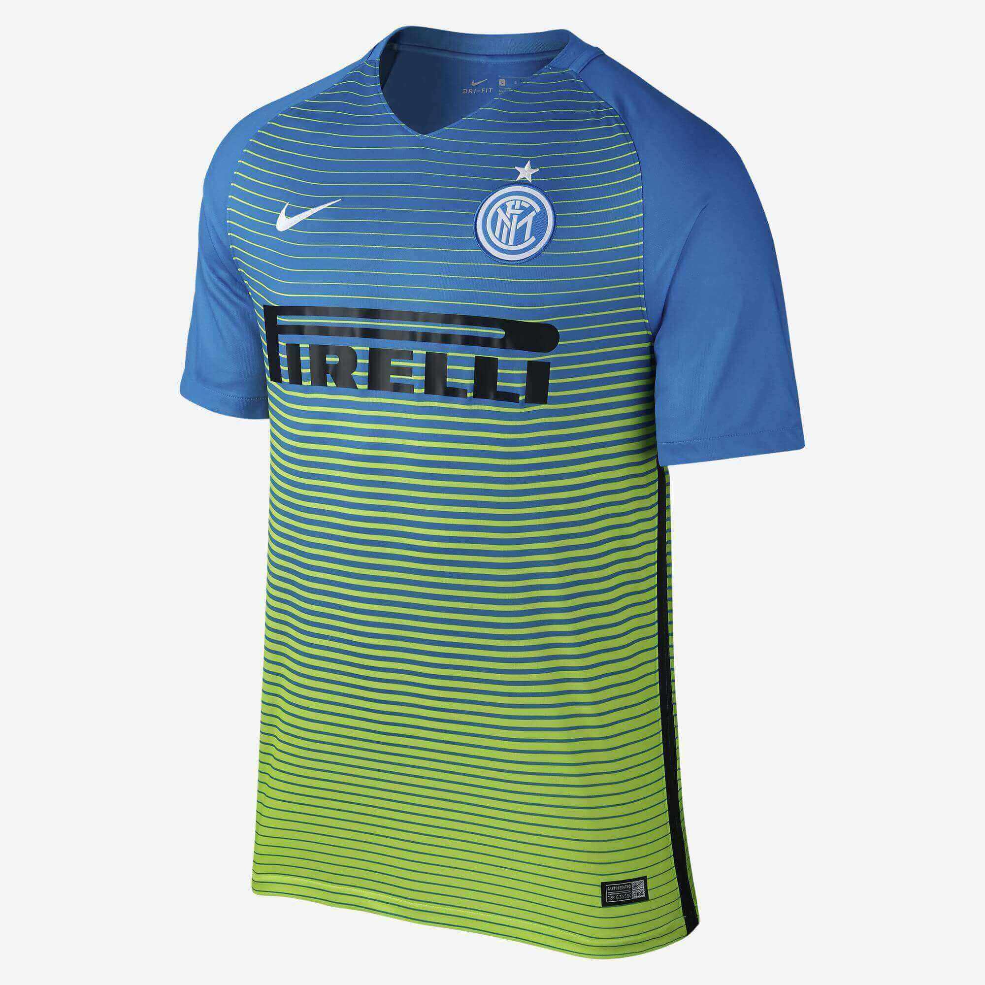 Camisa de Futebol Masculina Inter De Milão