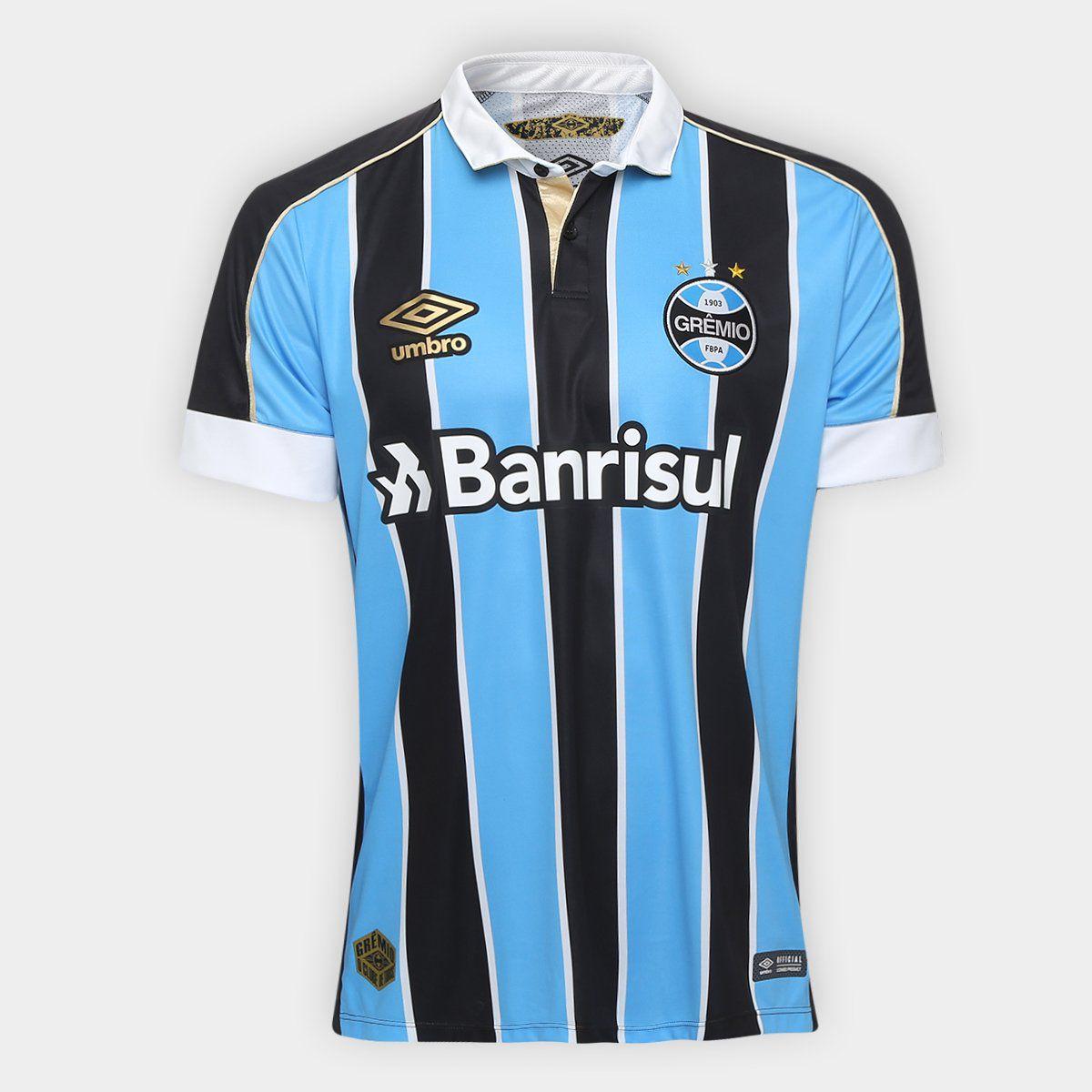 Camisa Grêmio I 1920 snº Torcedor Umbro Masculino