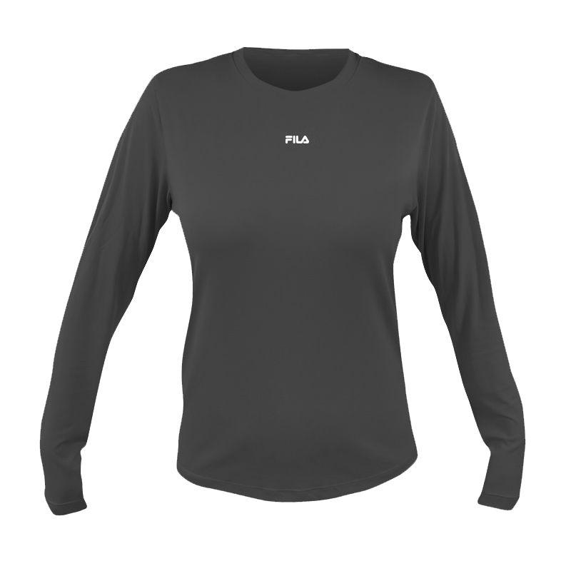 f2ee2d2e11de6 Camisa Manga Longa Fila Sunprotect Feminina - BRACIA SHOP: Loja de ...