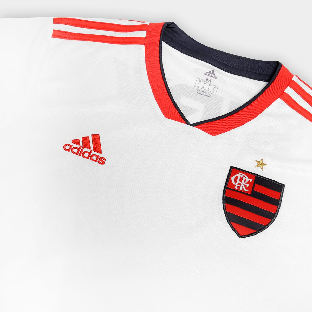 cf0c7a05bcbd8 Camisa Masculina Adidas Dj2721 Flamengo Ii - BRACIA SHOP  Loja de ...