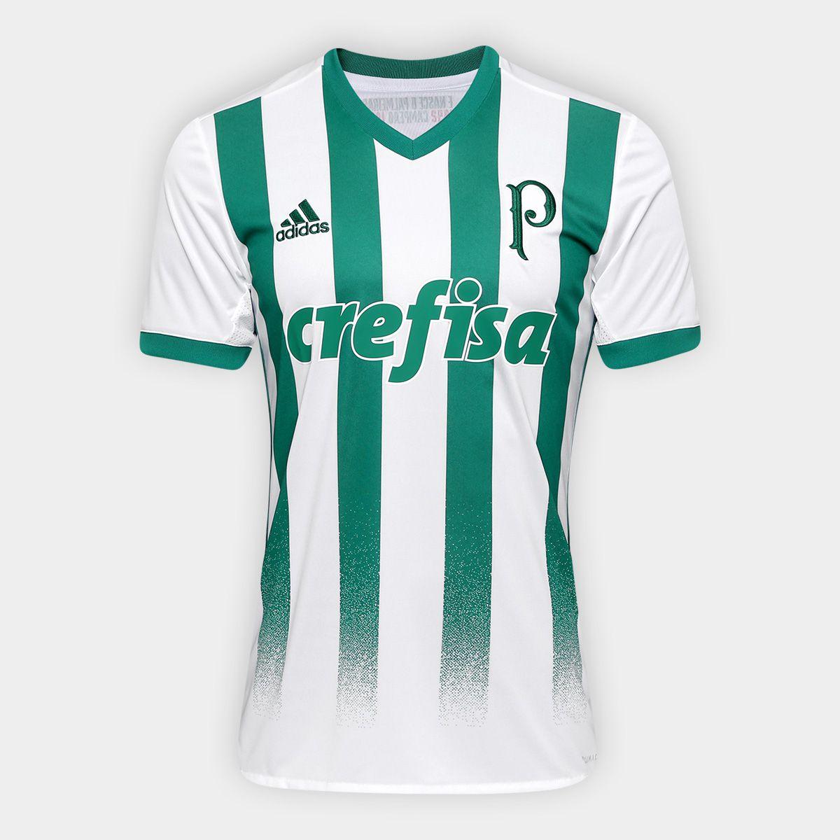 cbc3ed4b68abe Camisa Masculina Adidas Palmeiras Ii Torcedor - BRACIA SHOP  Loja de ...