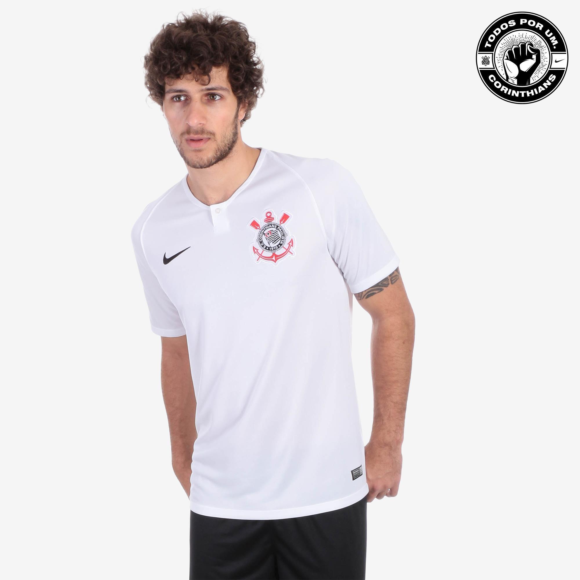 Camisa Masculina Corinthians Nike Sccp Brt Stad Js