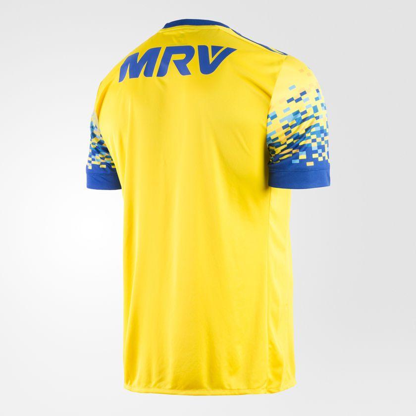 f5279b332c Camisa Masculina Flamengo Adidas Iii 17/18 S/nº Torcedor