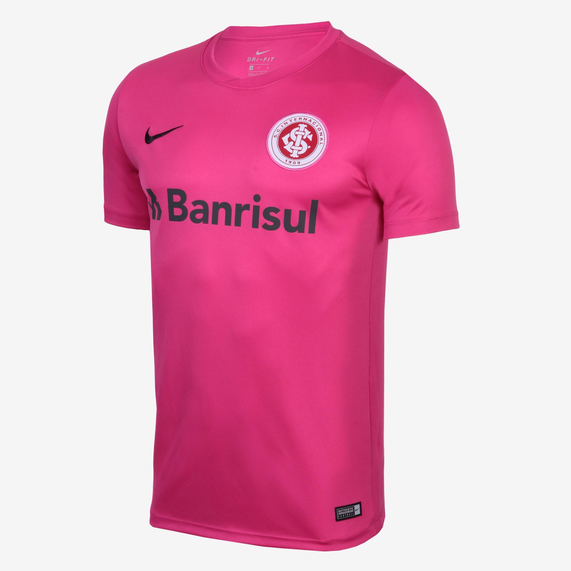 50fa7f74efe4a Camisa Masculina Nike Internacional Outubro Rosa - BRACIA SHOP  Loja ...