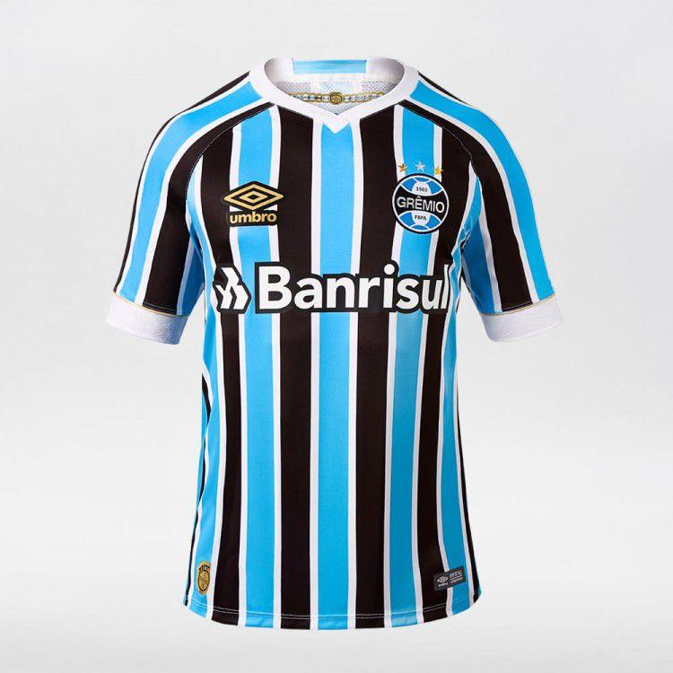 Camisa Masculina Umbro Grêmio Of.1 2018 - BRACIA SHOP  Loja de ... 123360f937282