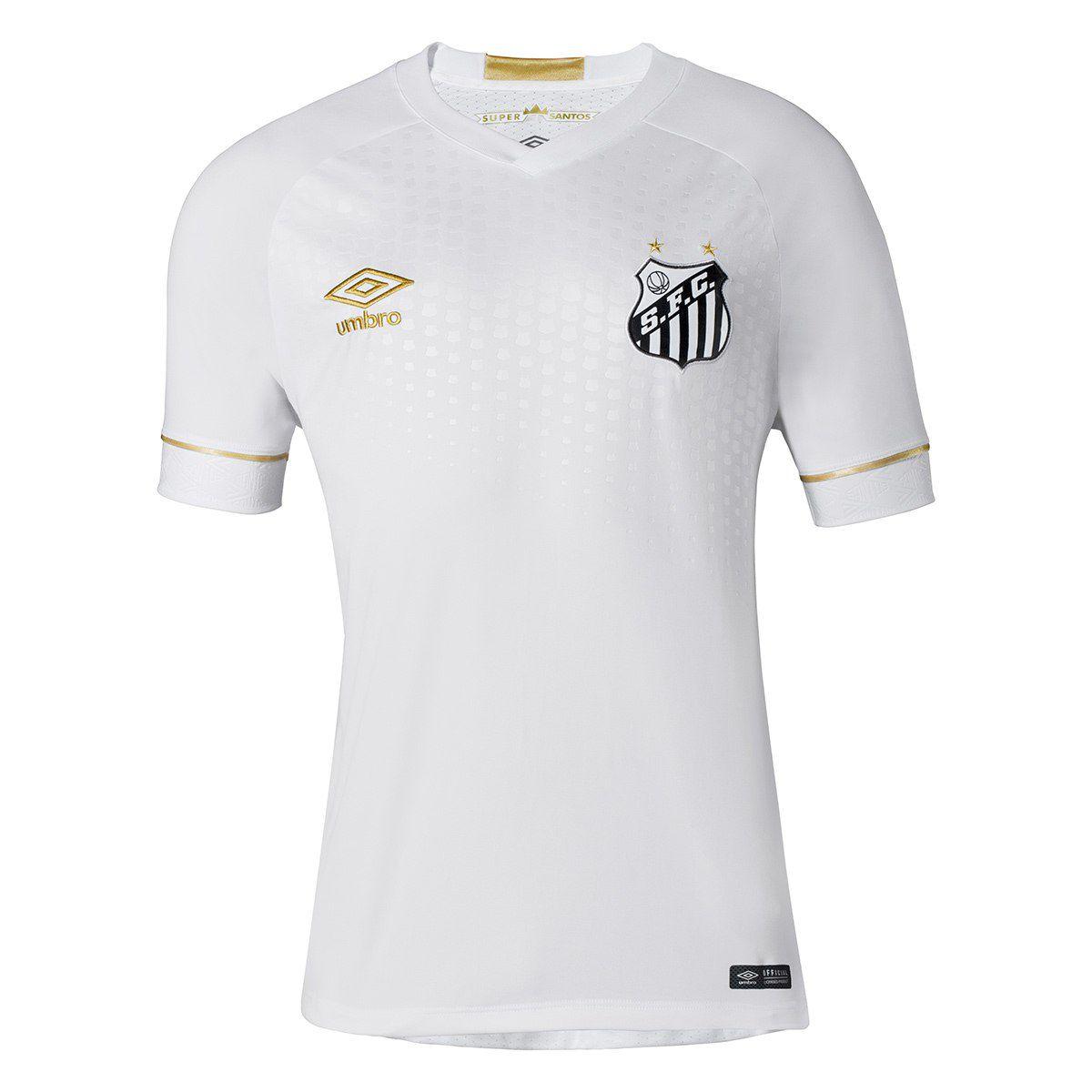 Camisa Masculino Umbro Santos Of.1 2018