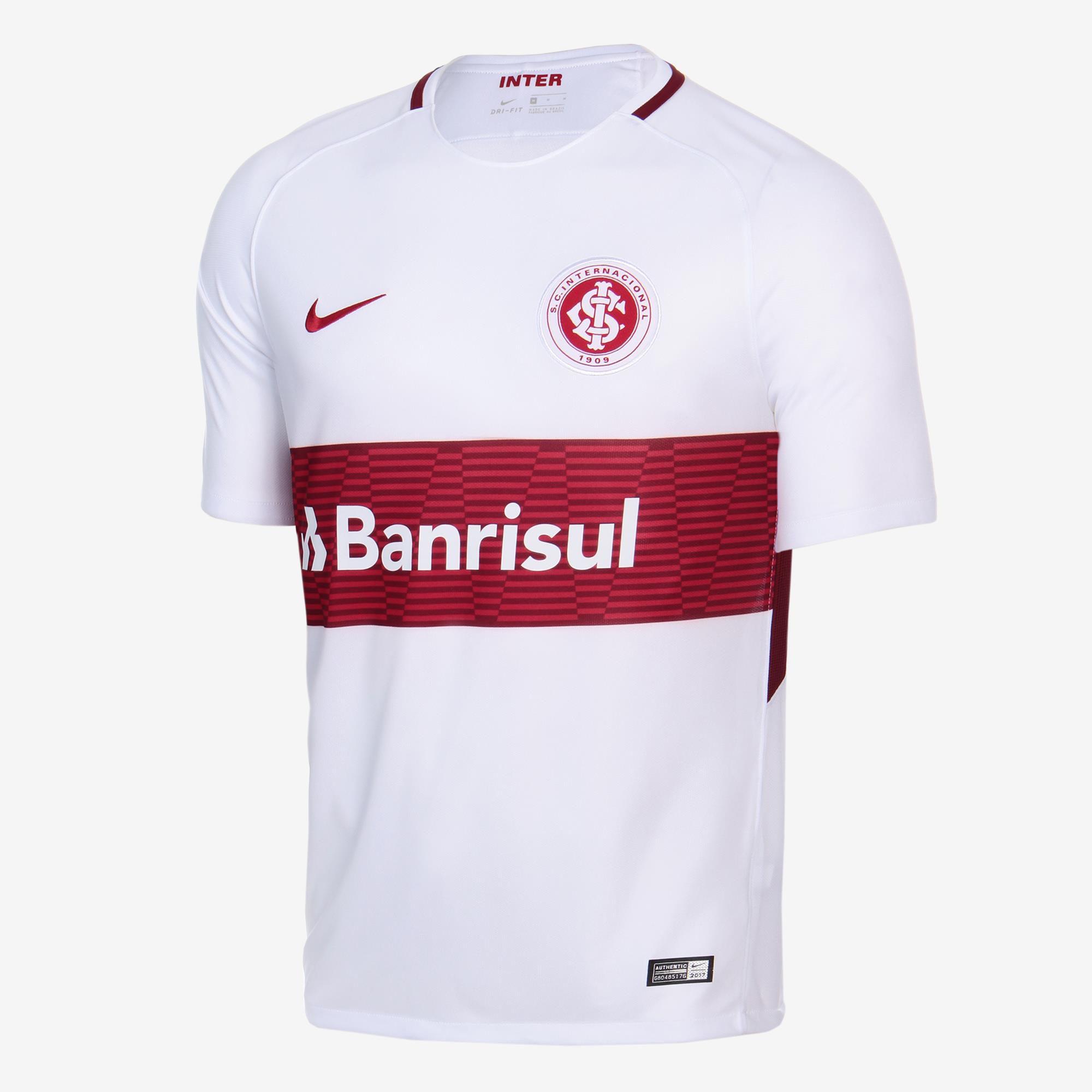 Camisa Nike Internacional Ii 17 18 S n° Torcedor - BRACIA SHOP  Loja ... f407bcc45c5be