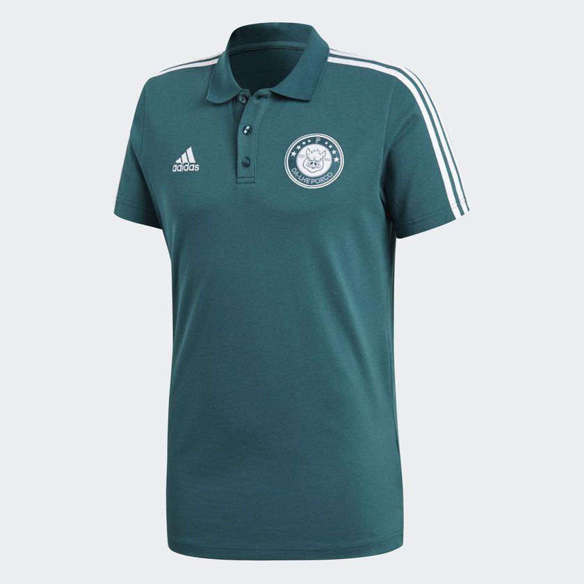 Camisa Palmeiras Adidas Polo 3s - BRACIA SHOP  Loja de Roupas ... 88d9a96837b46