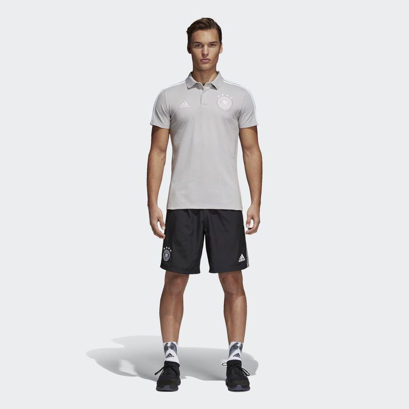Camisa Polo Adidas Alemanha Masculina - BRACIA SHOP  Loja de Roupas ... 215bc84566eb6