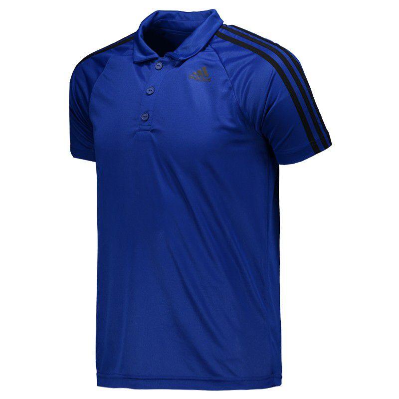 5ff2b0b630275 Camisa Polo Adidas Polo D2m 3s Anspirantitrante Climalite® - BRACIA ...