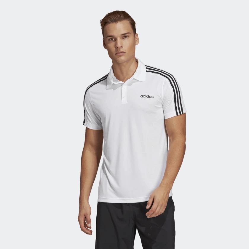 3ffe561263 Camisa Polo Masculina Adidas D2m 3s