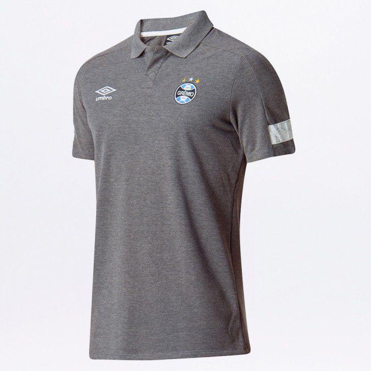 Camisa Polo Masculina Grêmio Viagem 2018
