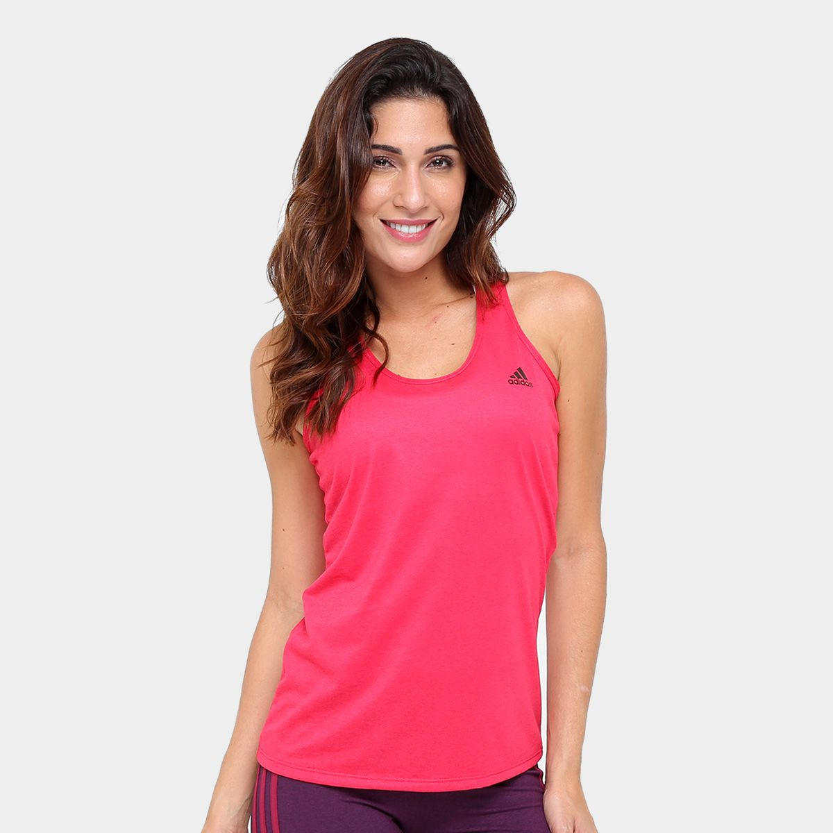 ede82be2ec8fb Camisa Regata Feminina Adidas Fitness - BRACIA SHOP: Loja de Roupas ...