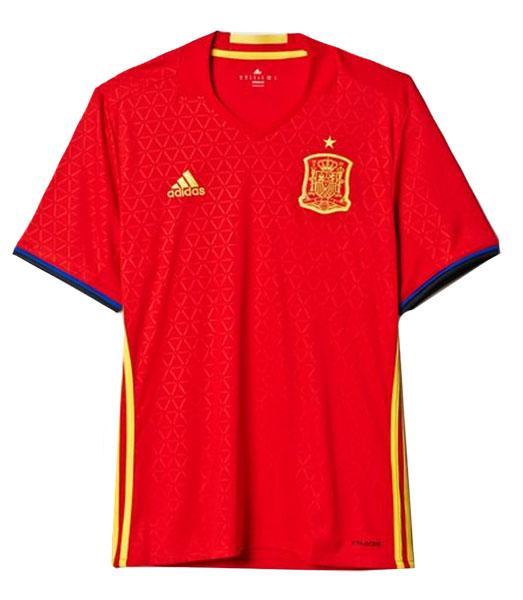 131e5c782e Camisa Seleção da Espanha Uefa Euro 2016 Adidas Oficial - BRACIA ...