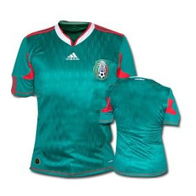 Camisa Seleção do México 2010 Oficial Adidas