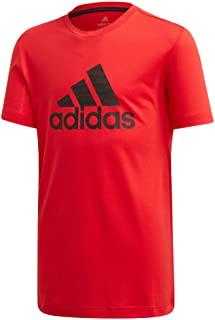 Camiseta adidas Performance Infantil Vermelha - Masculina
