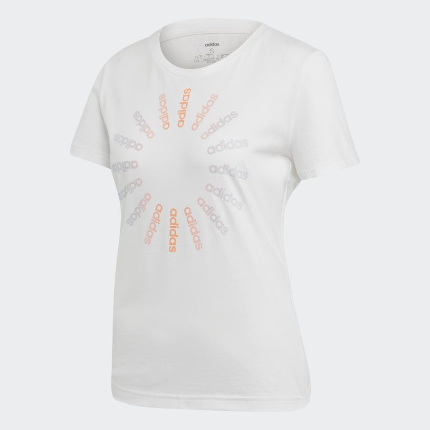 Camiseta Feminina Adidas Circled Graphic