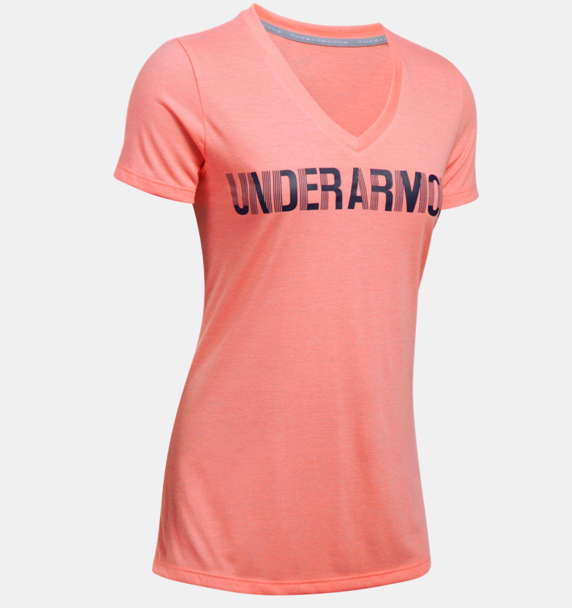 c5cf3711818 Camiseta Feminina Under Armour Threadborne v - BRACIA SHOP  Loja de ...