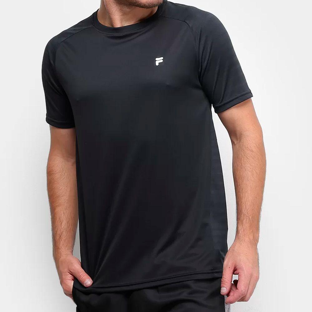 Camiseta Fila Jacquard Stripes Masculina