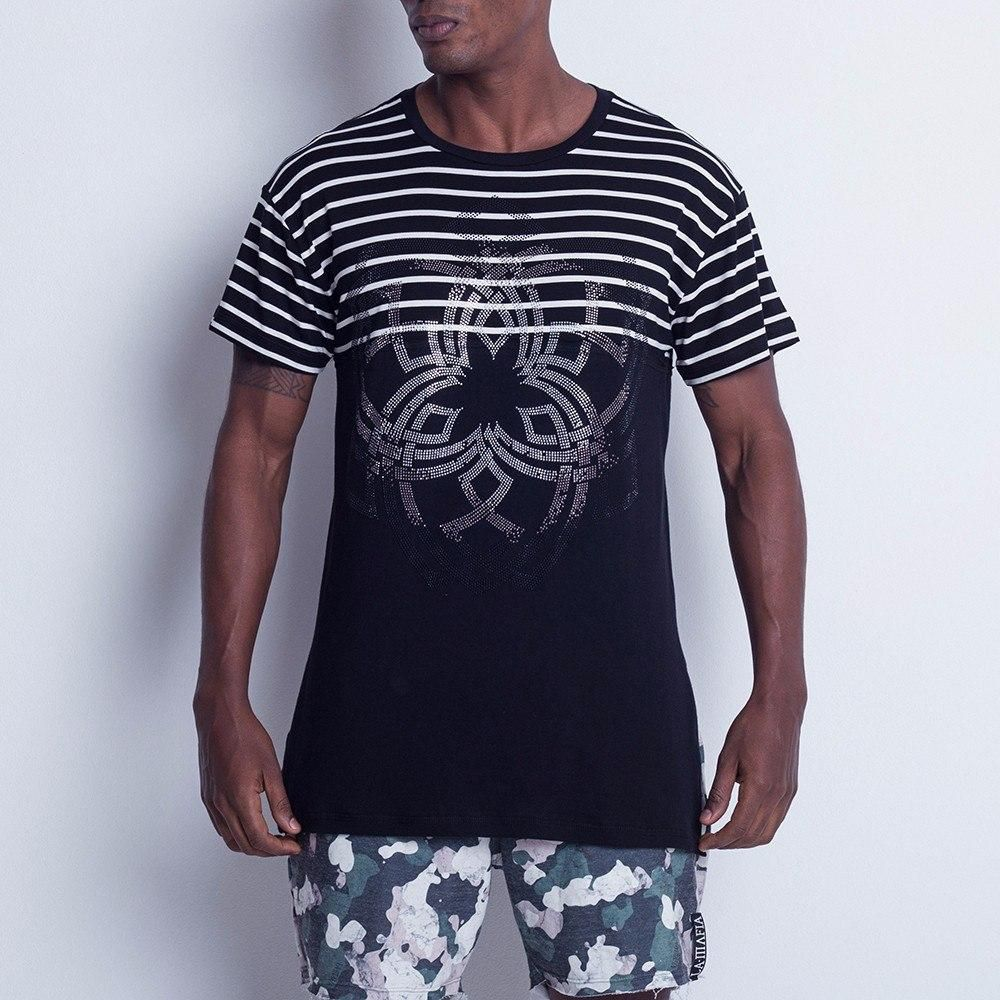 2497a216d2d40 Camiseta La Mafia Listrada Masculina - BRACIA SHOP: Loja de Roupas ...