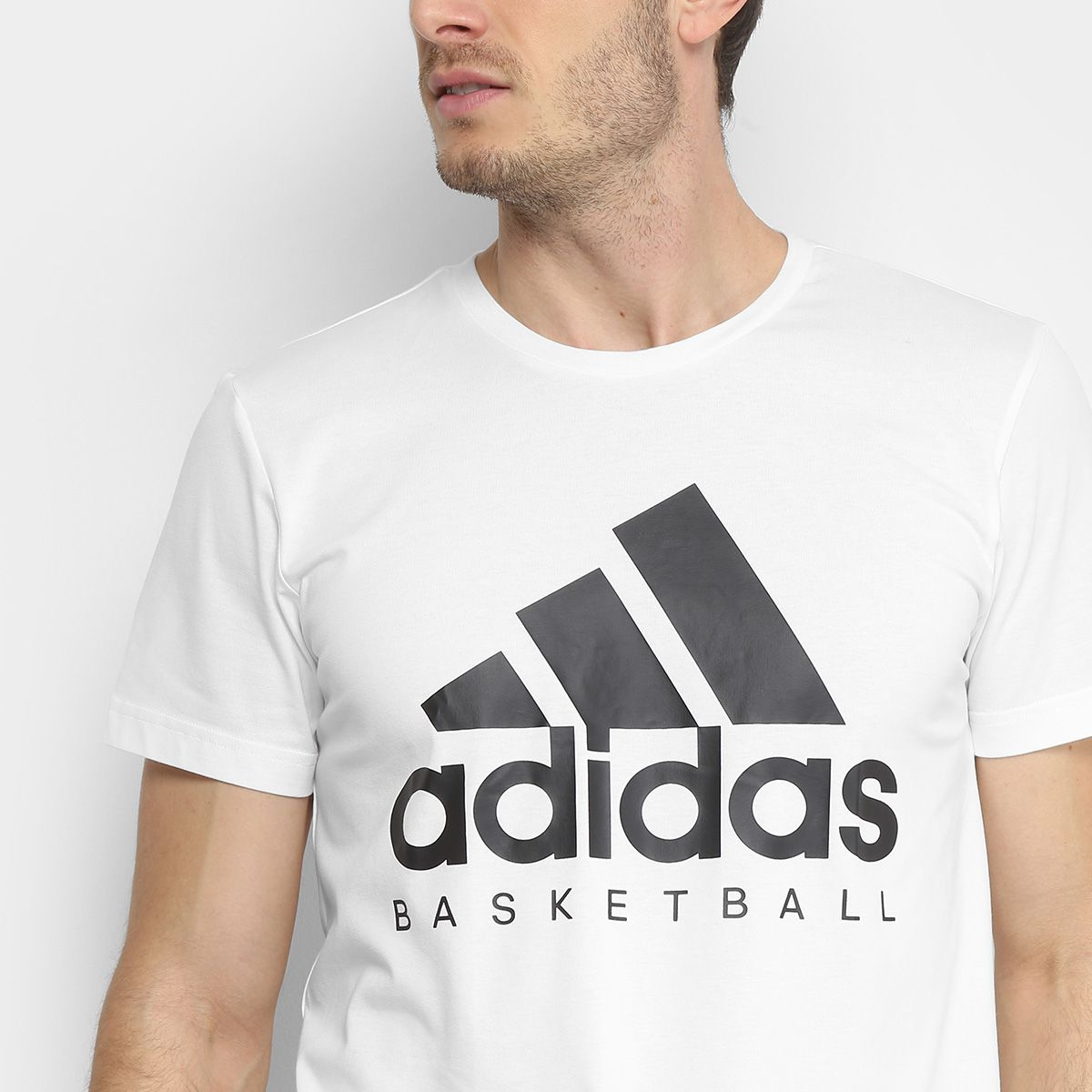 Camiseta Masculina Adidas Basketball Graphic