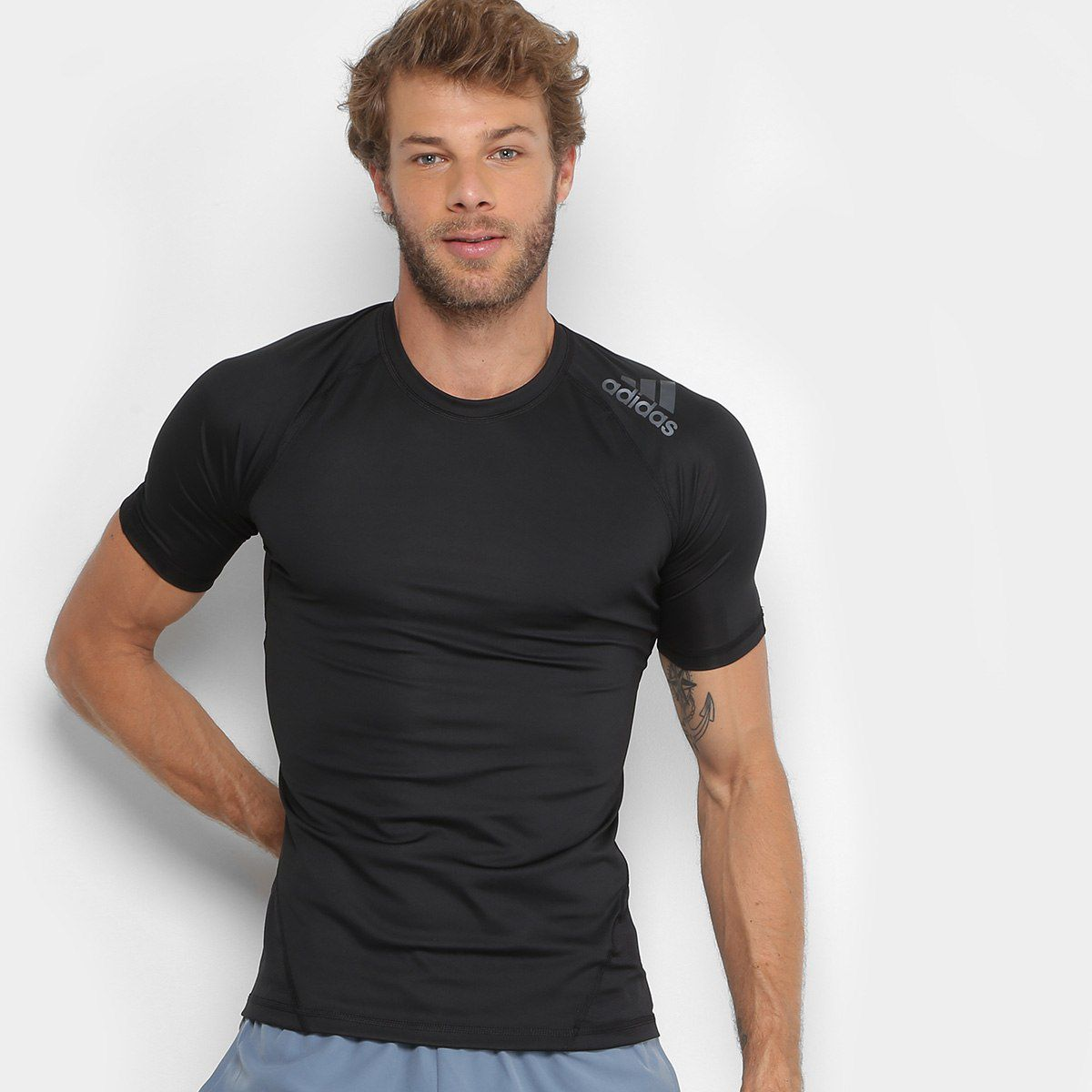 Camiseta Masculina Adidas Performance Dna Sprt Ss