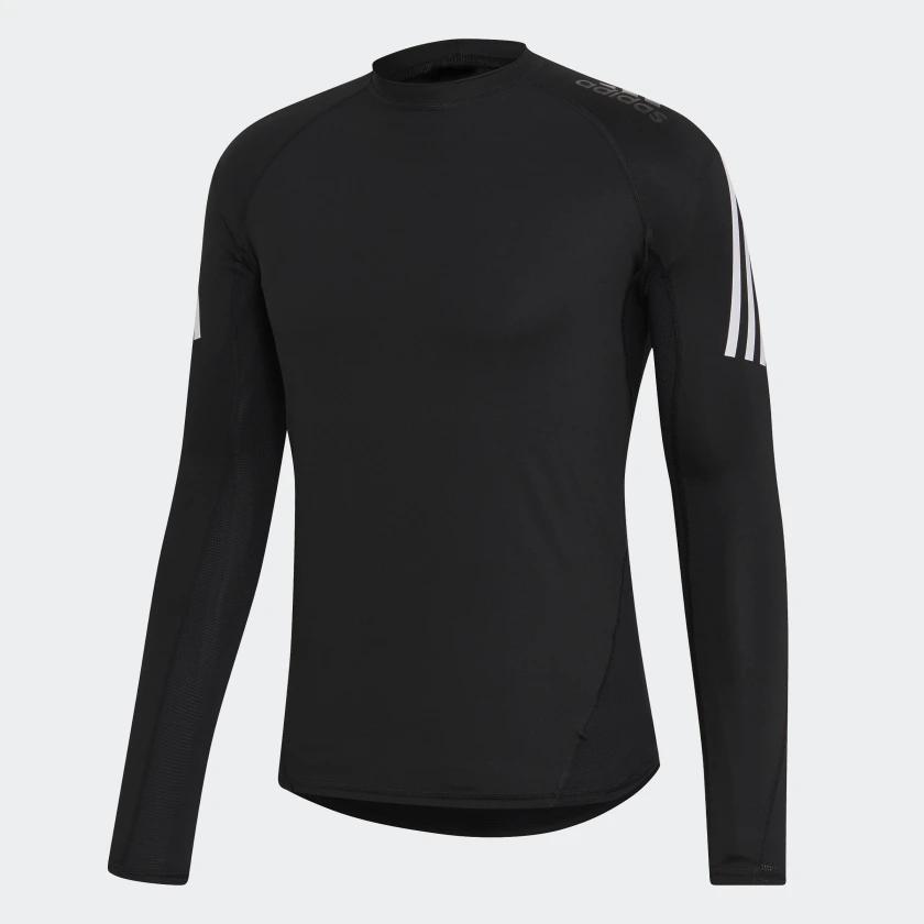 Camiseta Masculina Adidas Três Listras Alphaskin Sport+