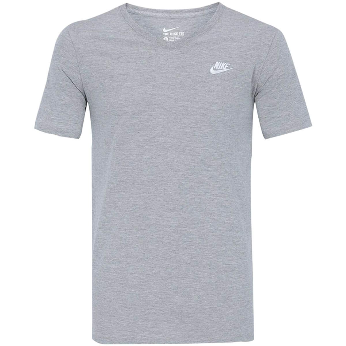 28ef8e523346f Camiseta Masculina Nike Tee-v Neck Emb - BRACIA SHOP  Loja de Roupas ...