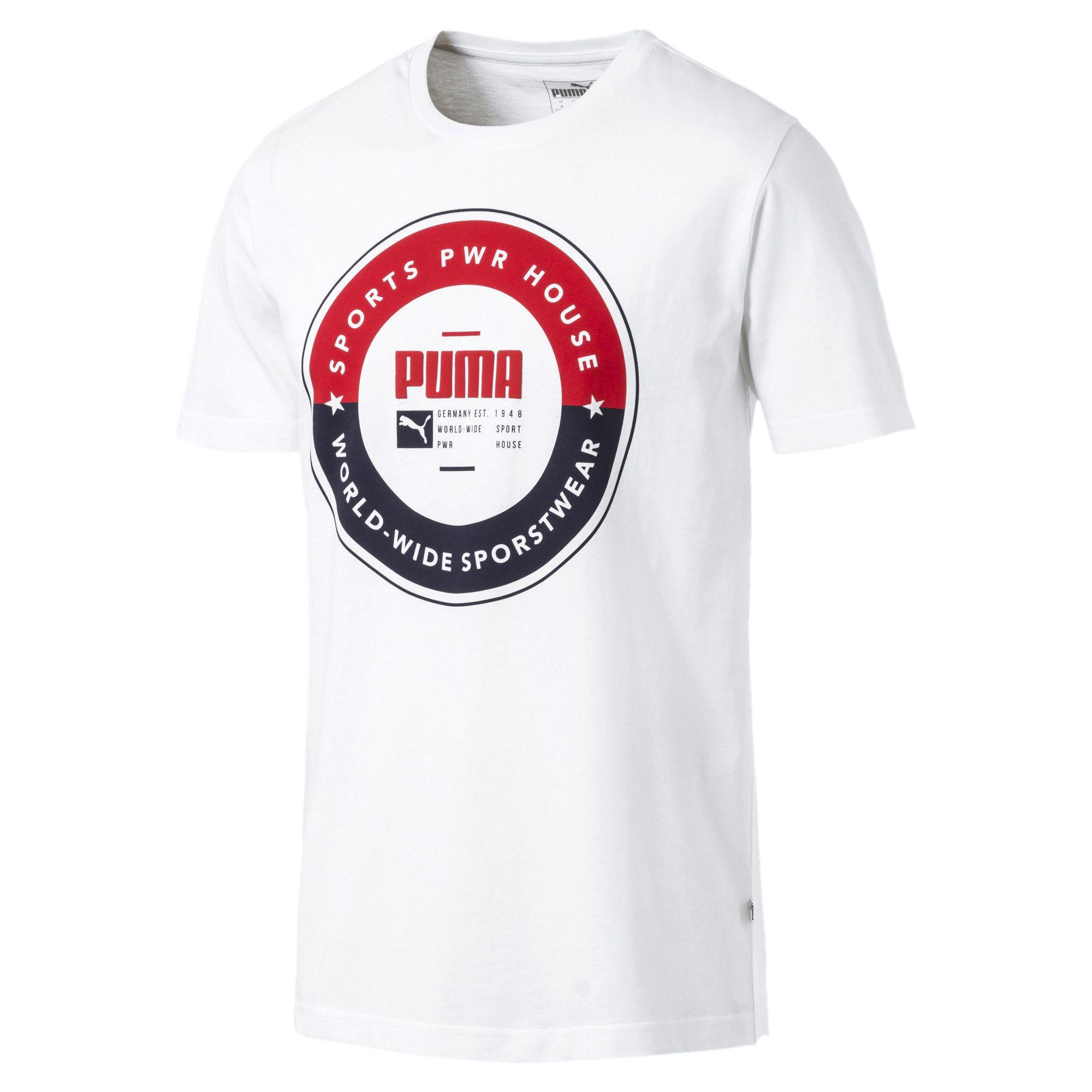 Camiseta Masculina Puma Sp Execution