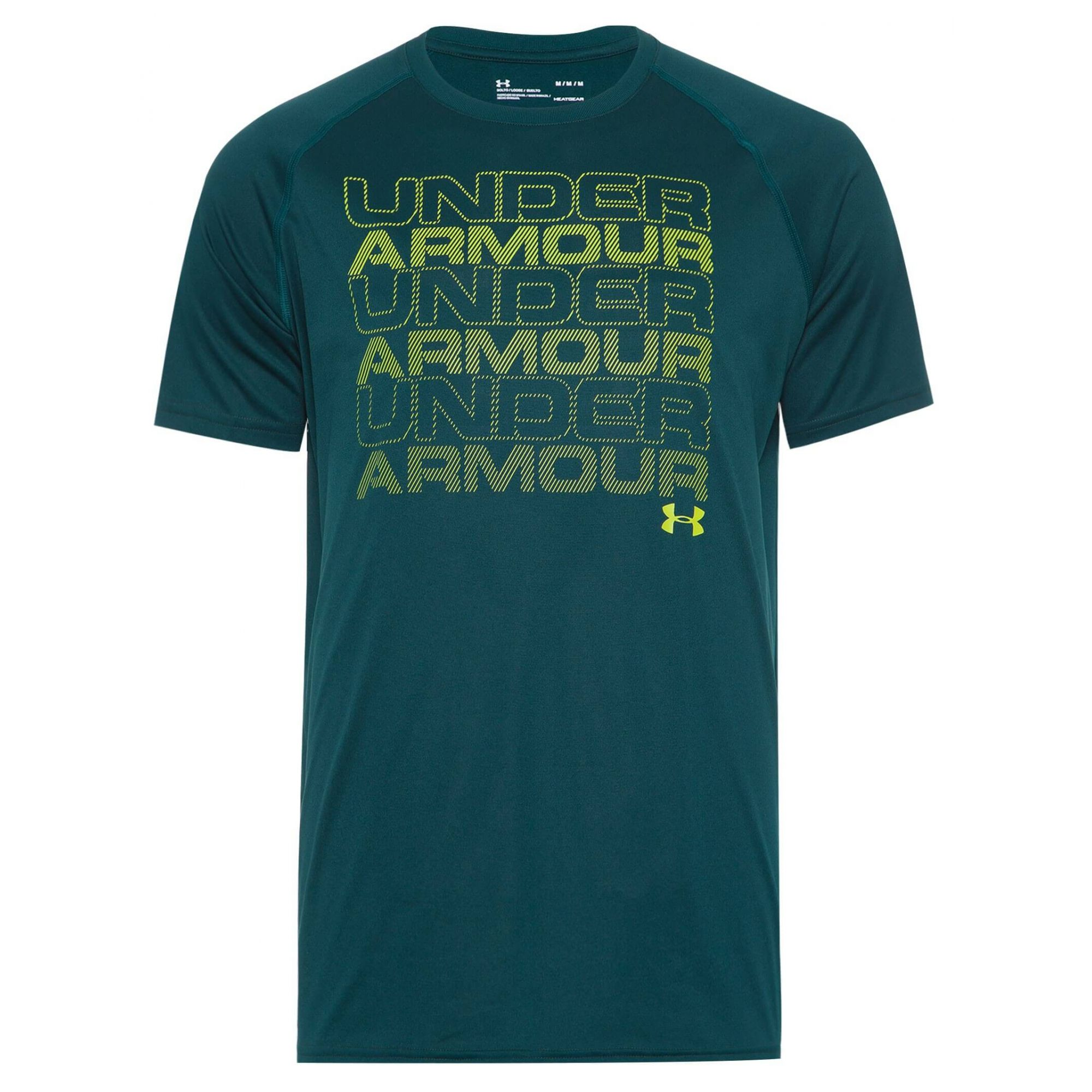 Camiseta Masculina Under Armour Br Keep Stacking