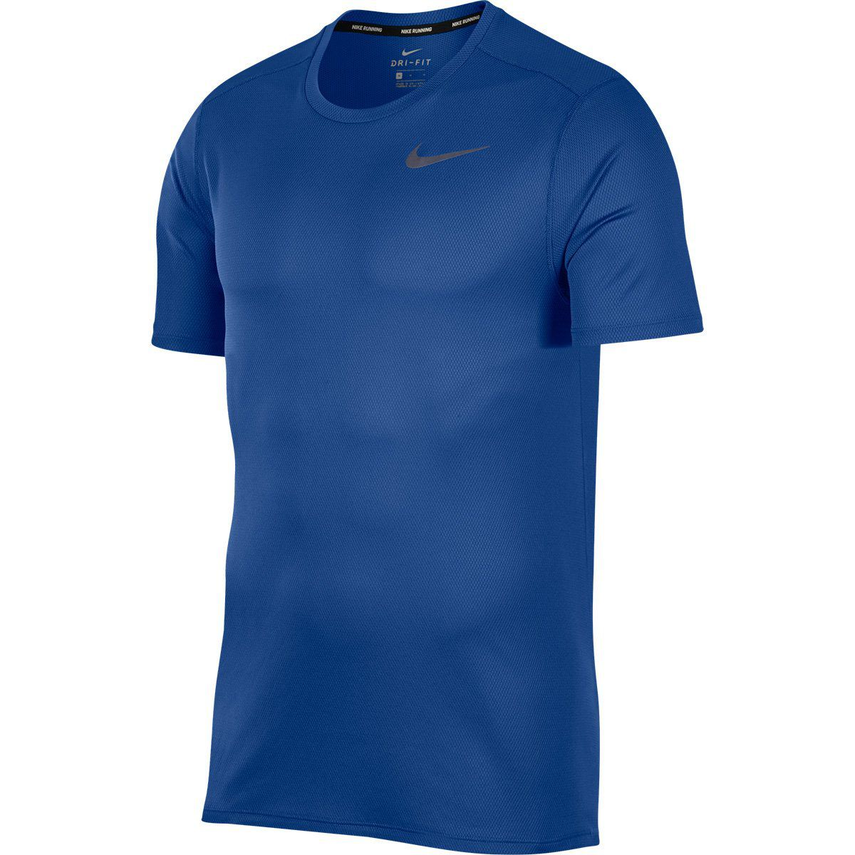 Camiseta Nike M NK Run Top Ss Azul