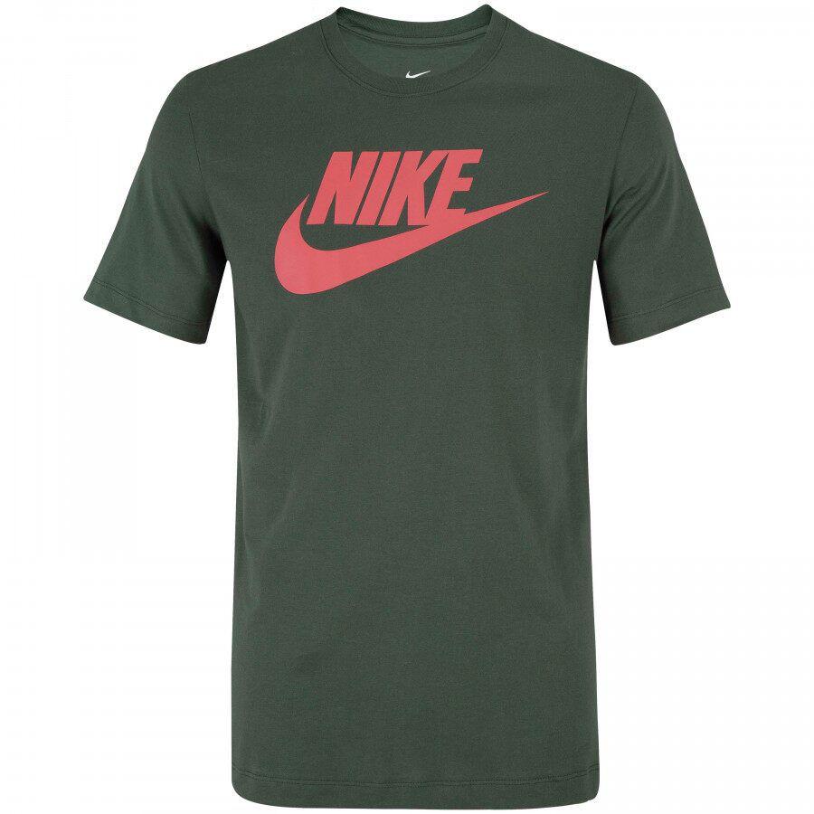 Camiseta Nike Sportswear Nsw Tee Icon Futu Verde