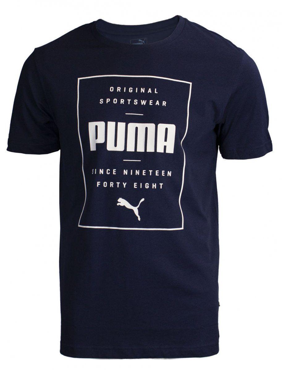Camiseta Puma Box Tee Masculina