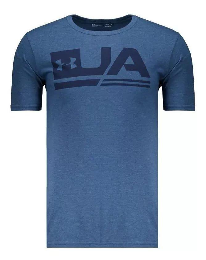 Camiseta Under Armour Sportstyle Azul Mescla