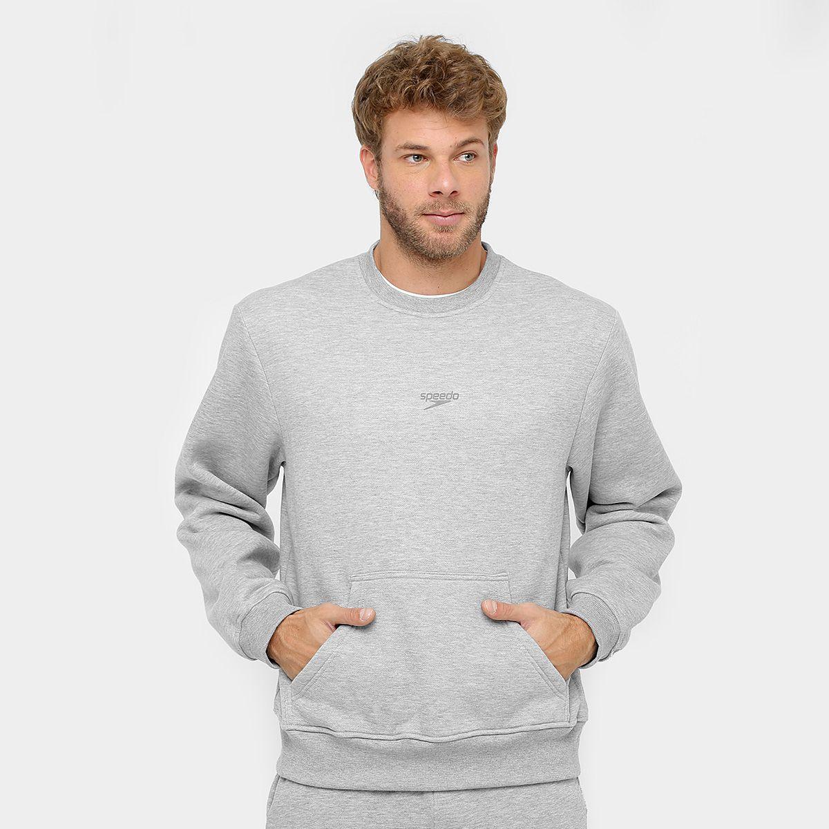 Casaco de Moletom Masculino Speedo Active Fleece
