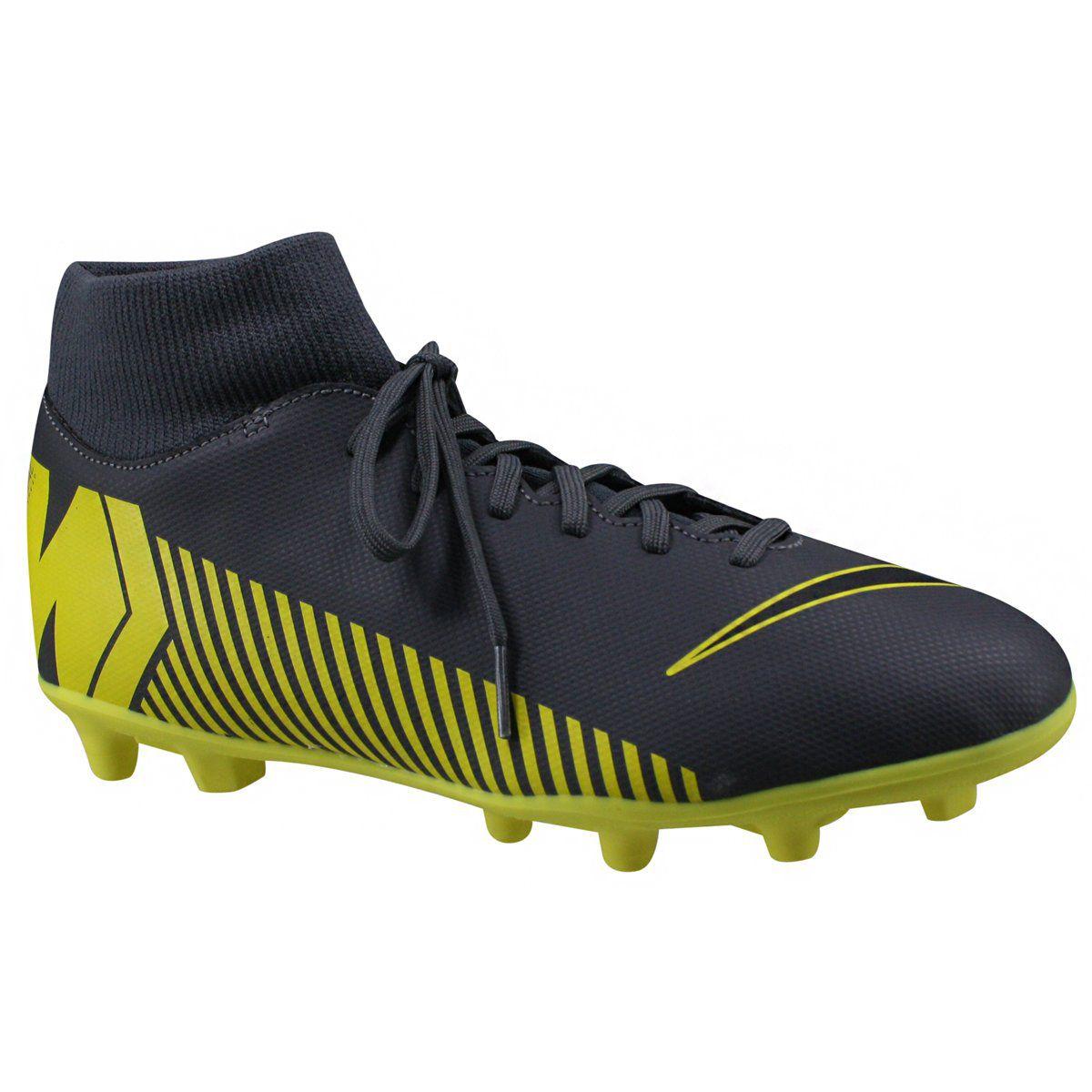 66761680ad254 Chuteira Campo Nike Mercurial Superfly 6 Club - BRACIA SHOP  Loja de ...