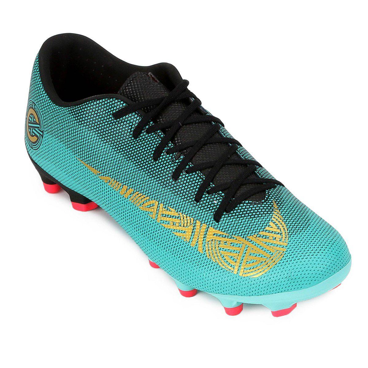 3d63b2618f Chuteira Campo Nike Mercurial Vapor 12 Academy Cr7 Mg - BRACIA SHOP ...