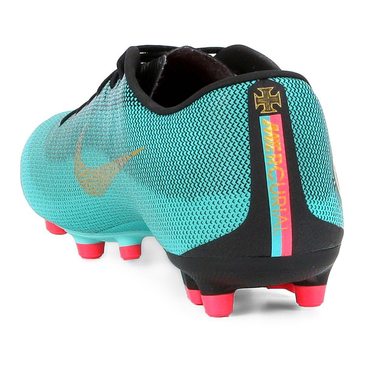 Chuteira Campo Nike Mercurial Vapor 12 Academy Cr7 Mg - BRACIA SHOP ... bf11b688dde31