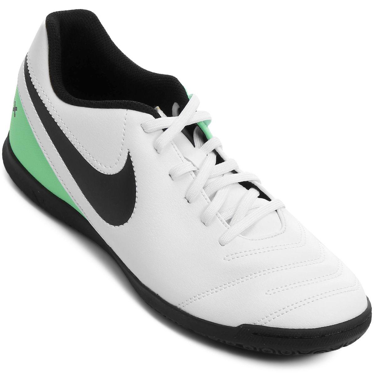 0b48dbc4d5 Chuteira Futsal Nike Tiempo Rio 3 IC Masculina - BRACIA SHOP  Loja ...