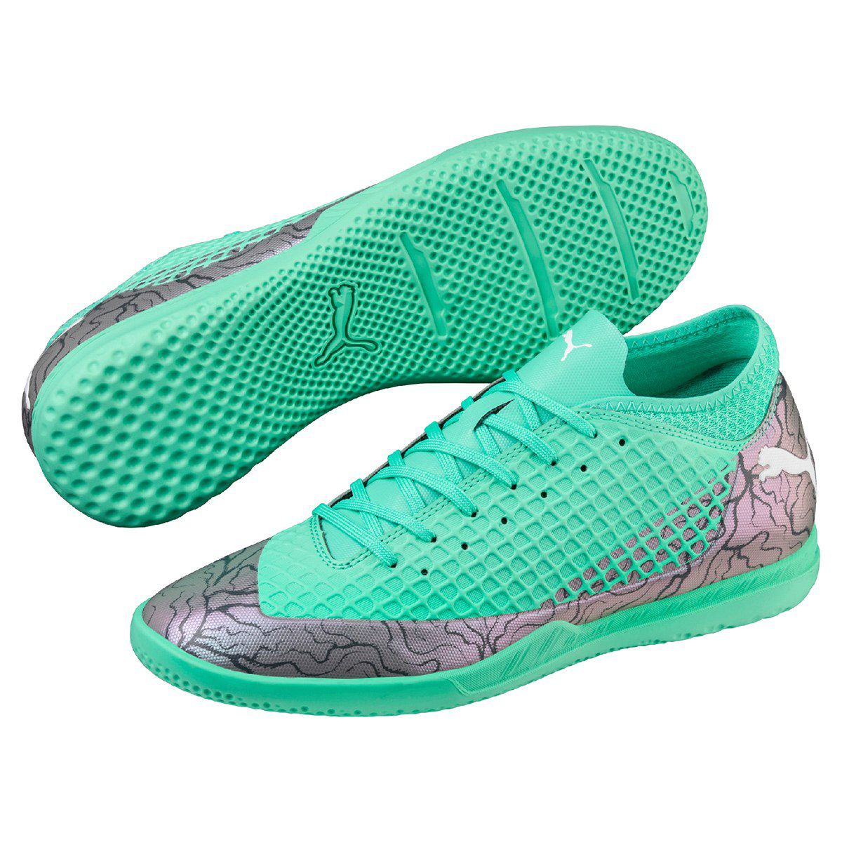 5a337a309f0a9 Chuteira Futsal Puma Future 2.4 IT Masculina - BRACIA SHOP  Loja de ...
