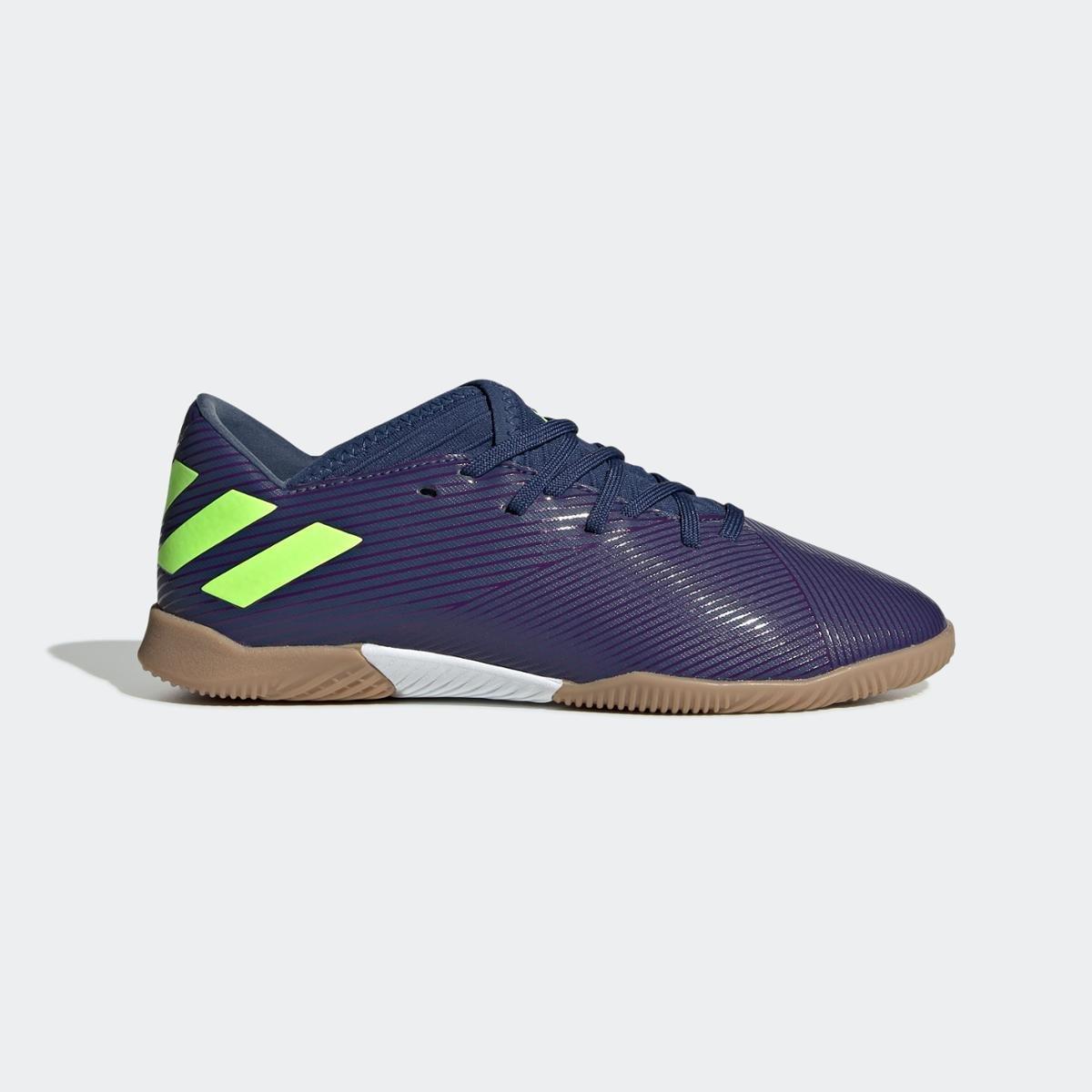 Chuteira Messi 19.3 Futsal Tech Indigo Adidas Infantil