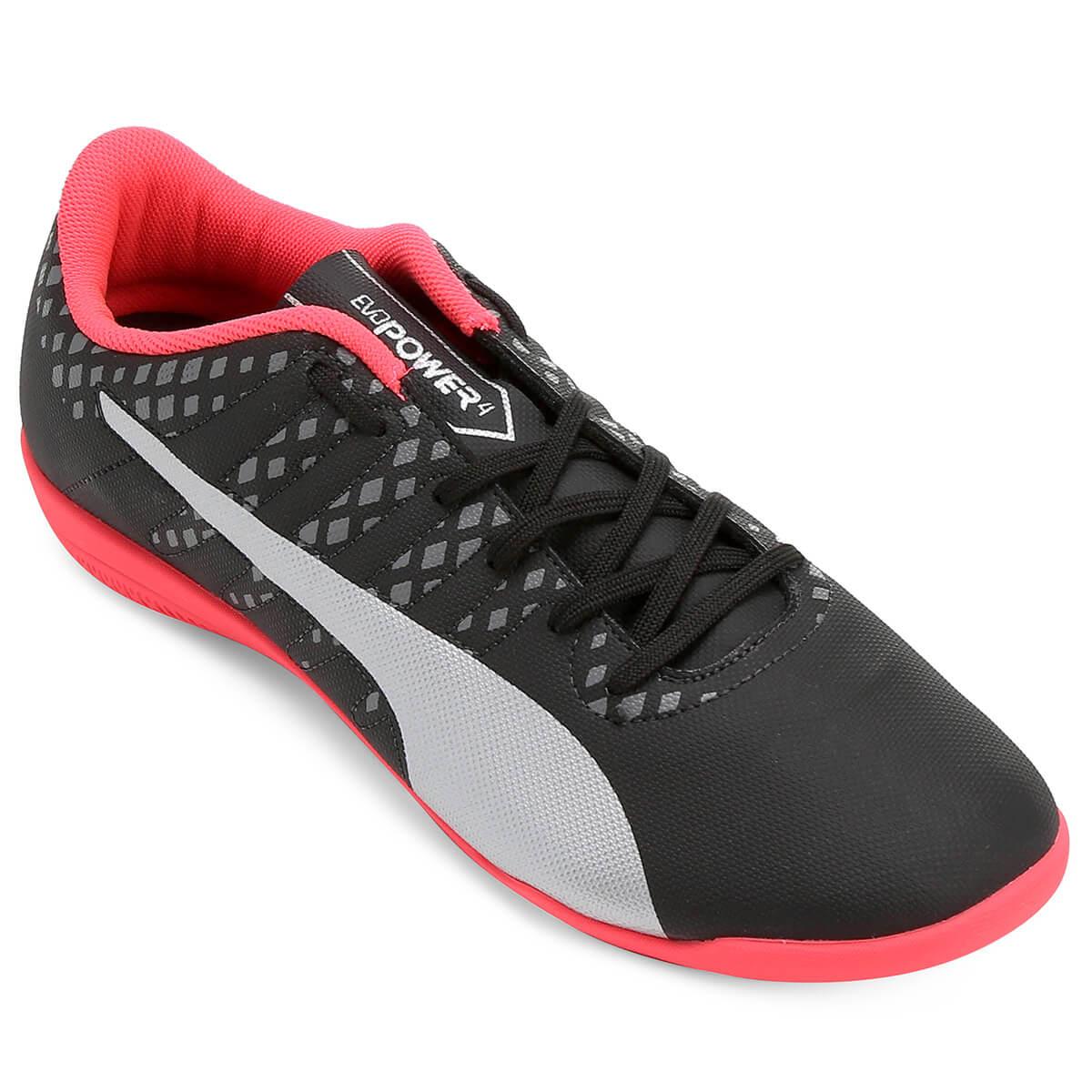 4fcc3c75b4488 Chuteira Puma Evopower Vigor 4 Futsal