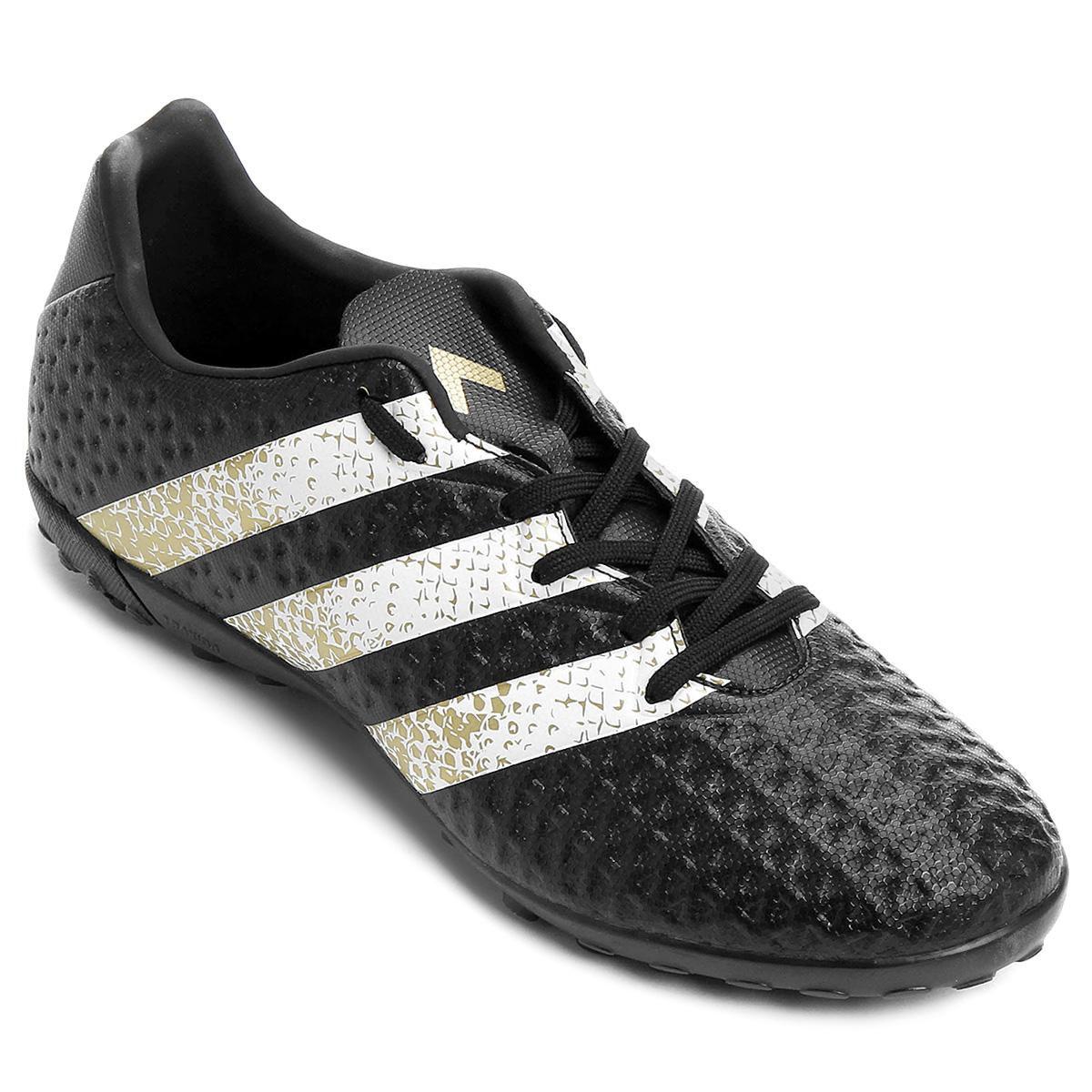 Chuteira Society Adidas Ace 16.4 - Preto