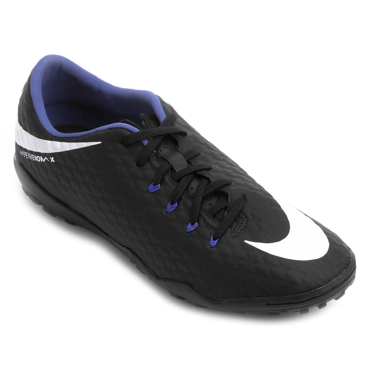 Chuteira Society Nike Hypervenom Phelon 3 TF Masculina