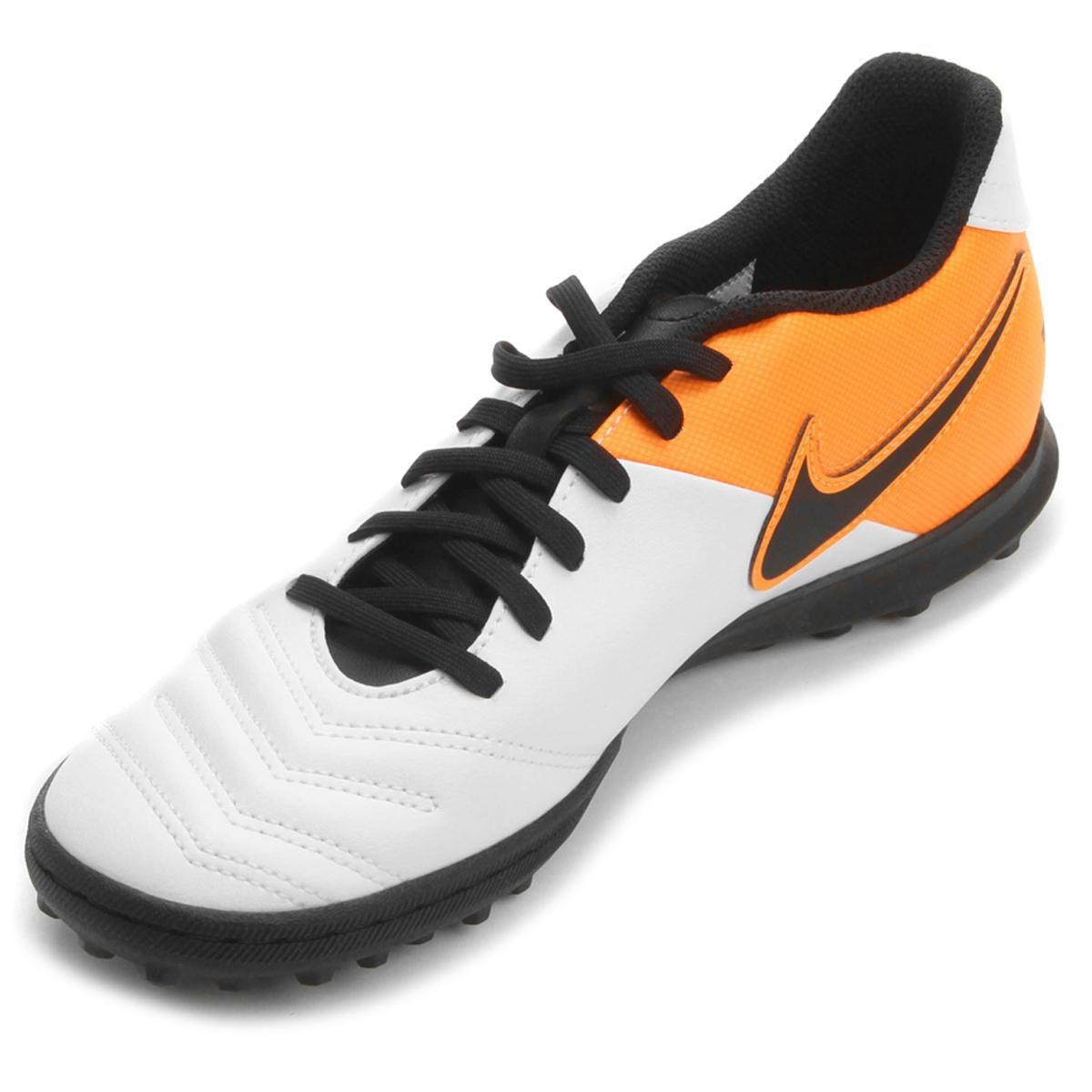 Chuteira Society Nike Tiempo Rio 3 TF Masculina - BRACIA SHOP  Loja ... cd69b1fb96f7c