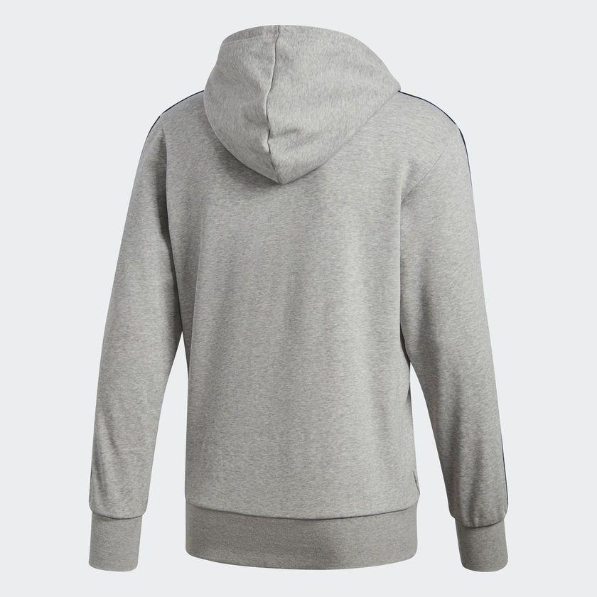 Jaqueta Moletom Masculina Adidas Ess 3s Fz Hood - BRACIA SHOP  Loja ... 7a2a1a8b7754b