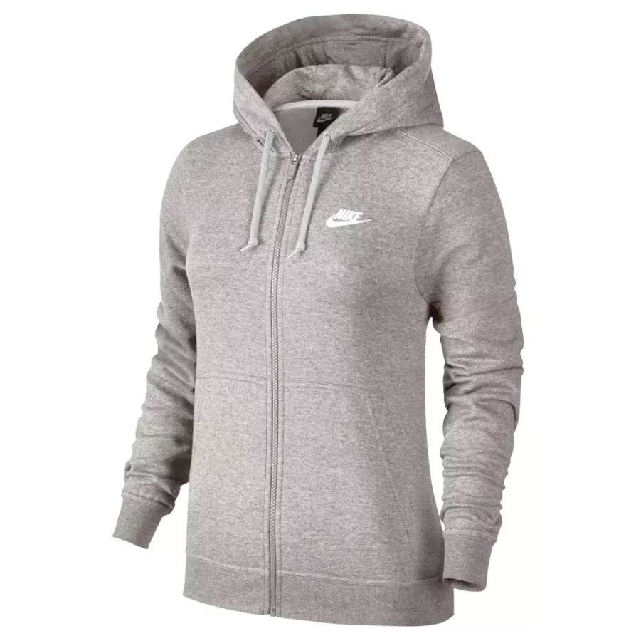 0ac0f359ca Jaqueta Moletom Nike Hoodie Feminino - BRACIA SHOP  Loja de Roupas ...